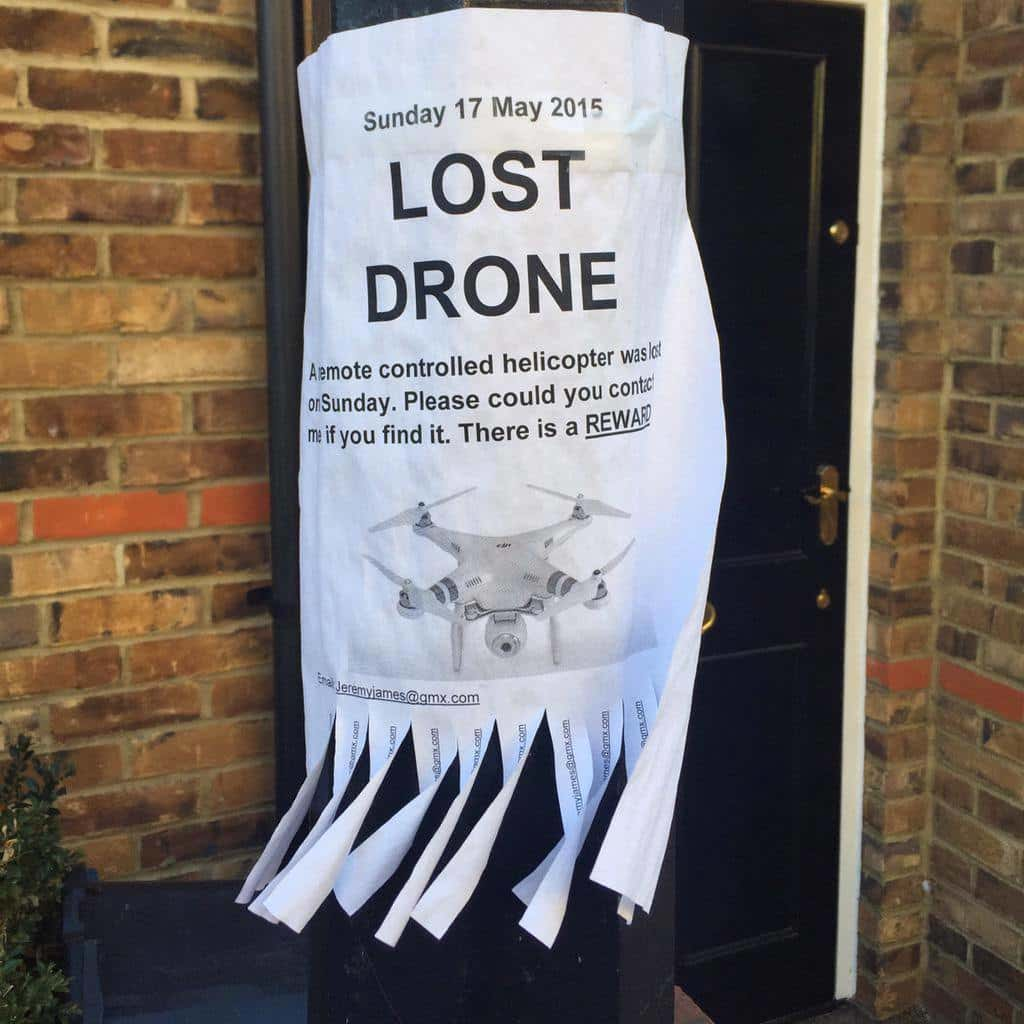 How to not lose your drone