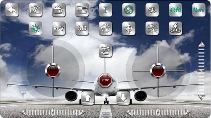 ScharkSpark Drone Thunder app screenshot