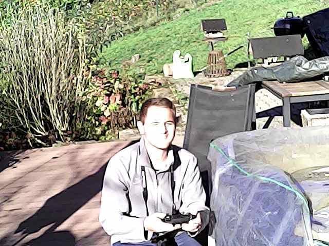 ScharkSpark Drone Thunder camera test