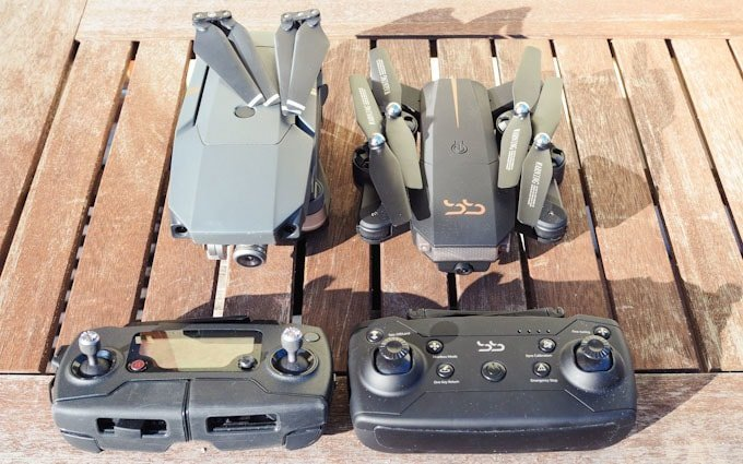 ScharkSpark Drone Thunder vs DJI Mavic Pro