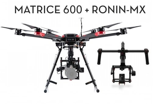 dji matrice 600 ronin mx