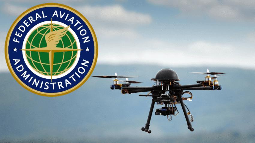 drone flying legal FAA