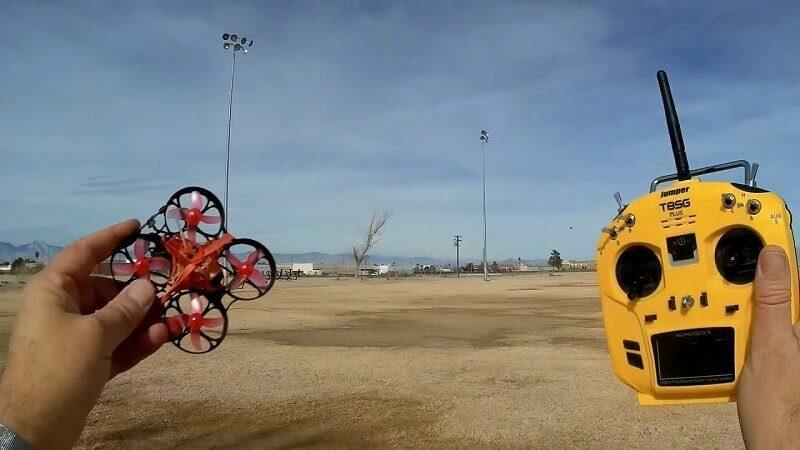 eachine trashcan flight test